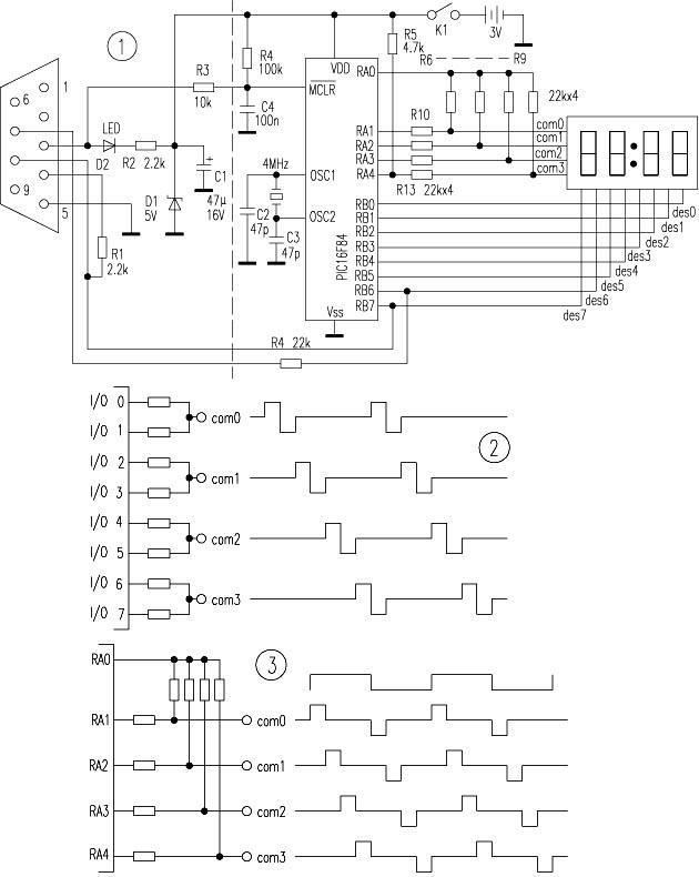 自制pic16f84单片机学习套件